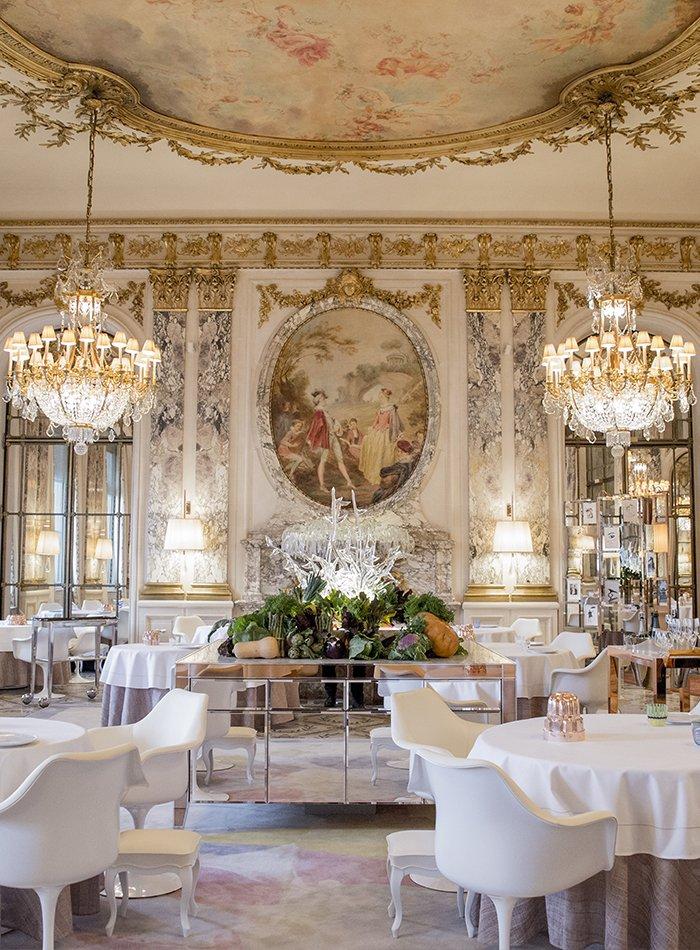 Le meurice alain ducasse paris fine dining restaurant for Art de la table